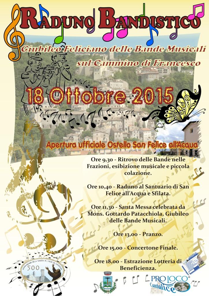 Raduno Bandistico 18-10-2015